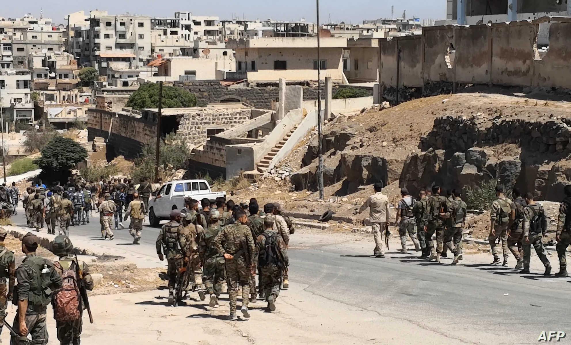 إصابة مدني بإطلاق نار من قِبل قوات الأسد في درعا
