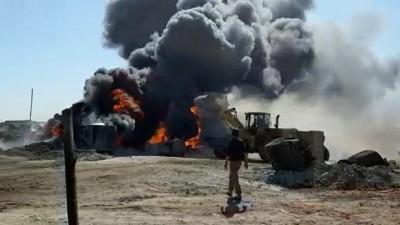 """""""إندبندنت"""": مصافي النفط في سورية تُعرِّض صحة السكان للخطر وتُسبِّب أمراضاً قاتلة"""
