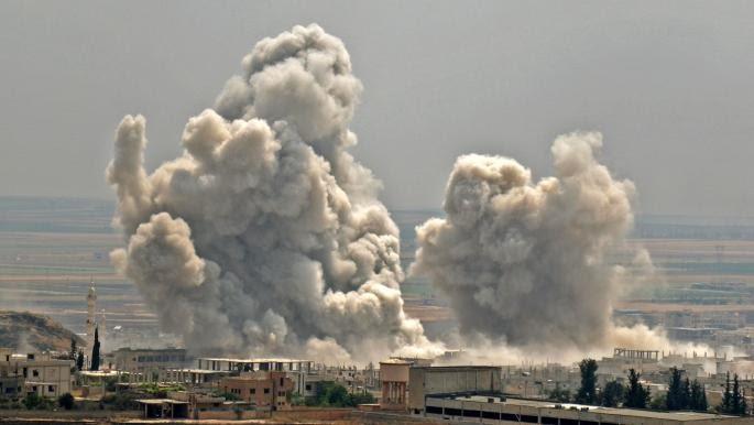 الطيران الروسي يشن غارات على شمال إدلب