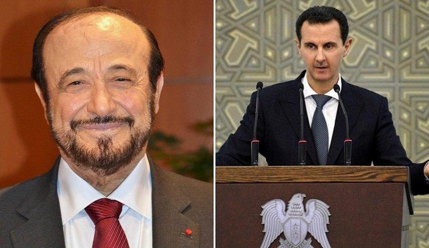 رسالة من رفعت الأسد لابن شقيقه بشار الأسد.. ماذا جاء فيها؟