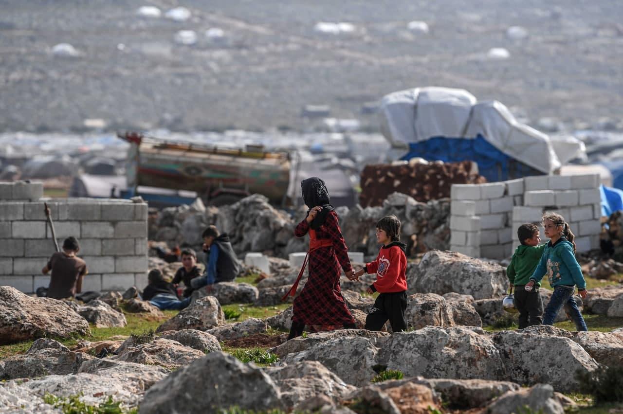 تسجيل 40 ألف حركة نزوح داخلي في سوريا خلال آذار الفائت