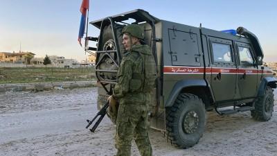 تفجير يستهدف الشرطة الروسية شرق درعا ويخلف جرحى