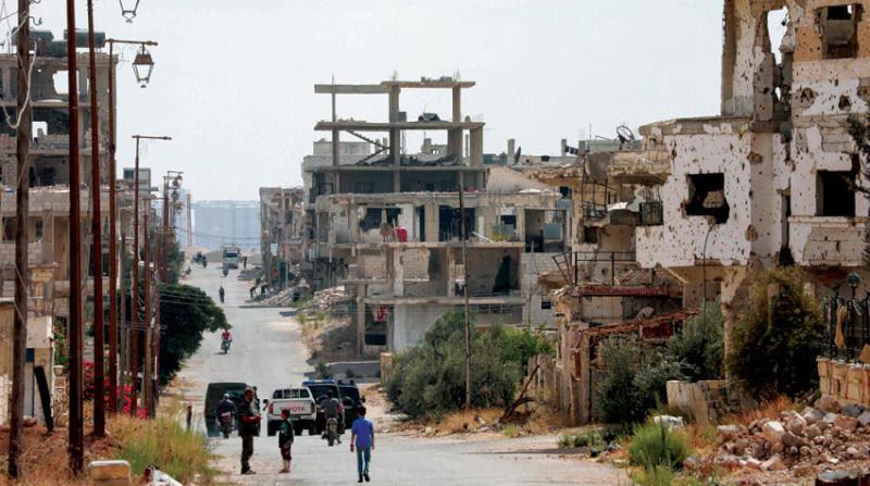 """نظام الأسد يعيد ضخّ المياه إلى مناطق """"درعا البلد"""""""