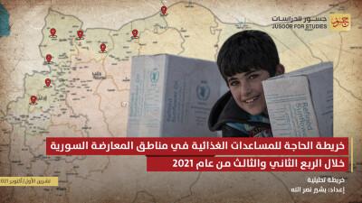 """مركز """"جسور للدراسات"""" يناقش آلية إدخال المساعدات إلى سورية"""