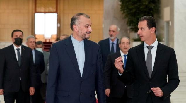 إيران تتحدث عن رسائل سياسية وراء زيارة عبد اللهيان لدمشق