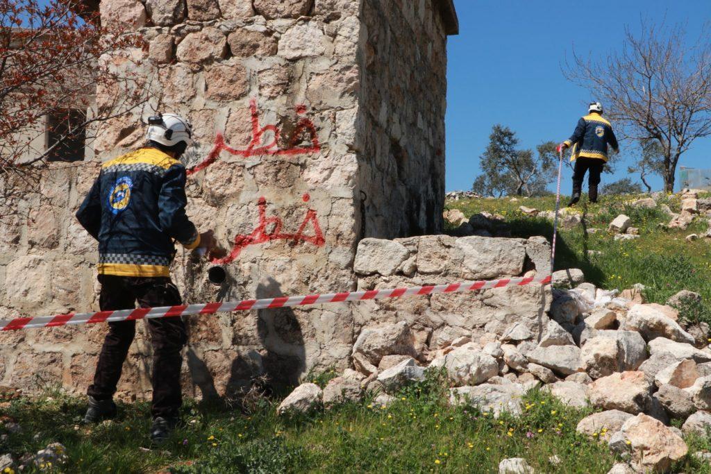 خطر الألغام يهدّد حياة المدنيين في ريفَيْ حلب وإدلب