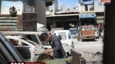 المنطقة الصناعية في إدلب حركة ضعيفة وموارد مالية قليلة