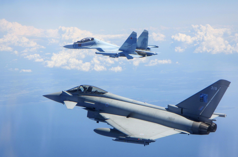 روسيا تشوش على الطائرات البريطانية انطلاقاً من الأراضي السورية