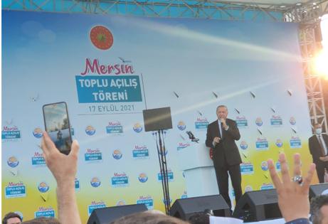"""أردوغان يعلن موعد اكتمال الوحدة الأولى من محطة """"أق قويو"""" النووية في مرسين"""
