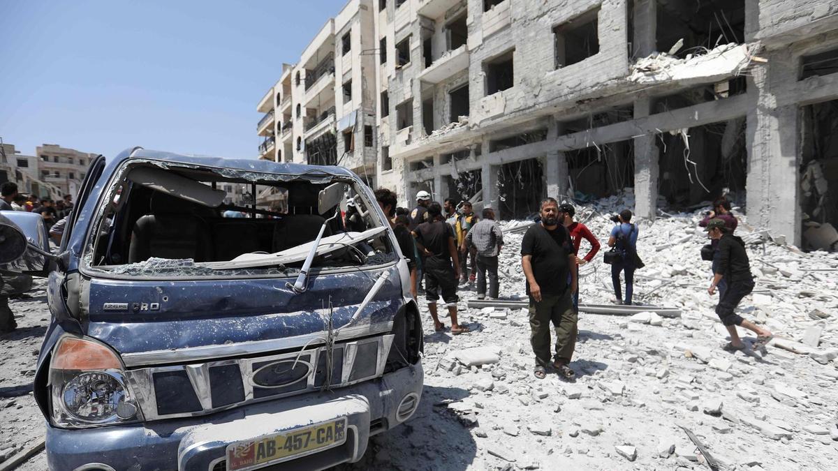 356 هجوماً لروسيا والنّظام شمالي سوريا في العام الجاري