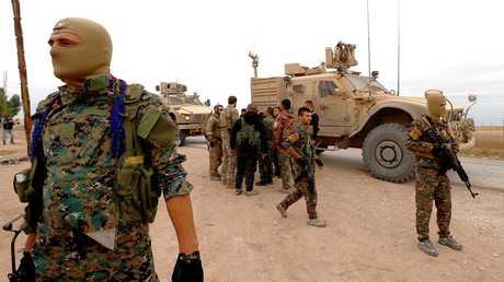 """""""قسد"""" تستقدم تعزيزات عسكرية ضخمة إلى تل تمر بريف الحسكة"""