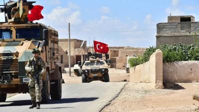 """قصف تركي مكثَّف يستهدف مواقع """"قسد"""" شمال الرقة"""