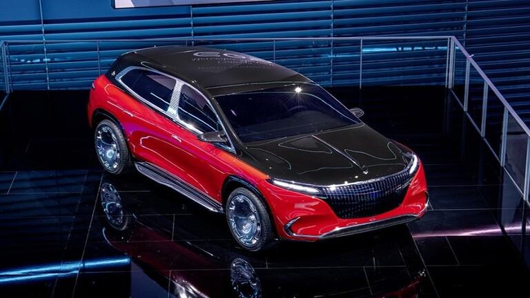 """قريباً.. نسخة فاخرة لسيارة """"الكروس"""" الكهربائية من """"مرسيدس - مايباخ"""""""
