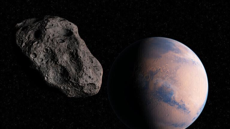 كُوَيكب بسرعة 80 ألف كم في الساعة يصطدم بمدار الأرض اليوم