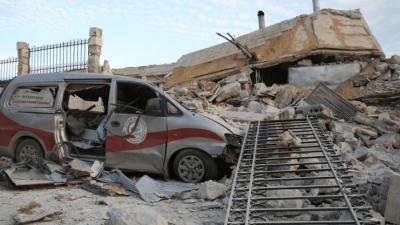 """""""صحة إدلب"""" تكشف عن عدد المنشآت الصحية المدمَّرة جرّاء القصف الروسي منذ عامين"""