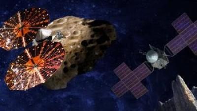 """""""ناسا"""" تطلق مركبة فضائية بهدف التقاط صور لأسراب """"كويكبات طروادة"""""""