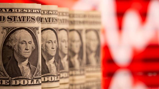 تراجُع الدولار الأمريكي عن أعلى مستوى له منذ 9 أشهر