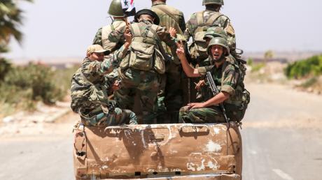 قتلى وجرحى في صفوف عناصر النظام السوري شرق درعا
