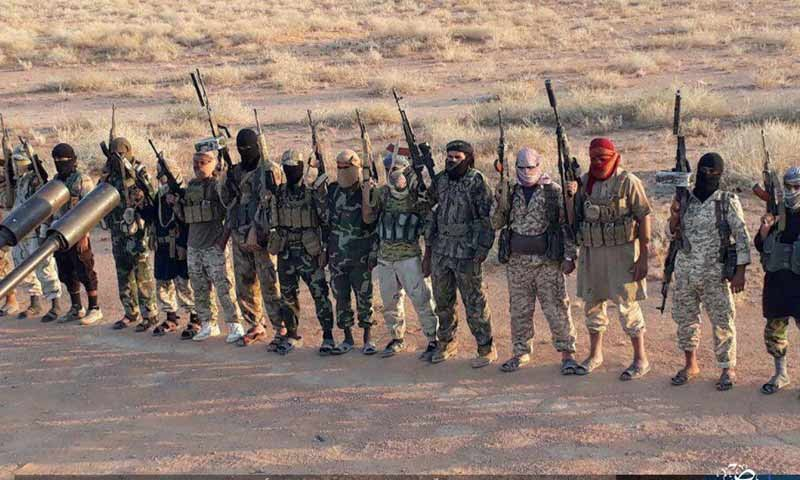البادية السورية تبتلع دفعة جديدة من قوات النظام السوري