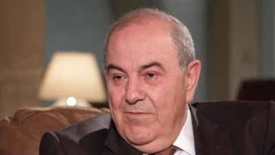 رئيس وزراء العراق الأسبق إياد علاوي يدعو بشار الأسد إلى حوار في إطار مصالحة وطنية