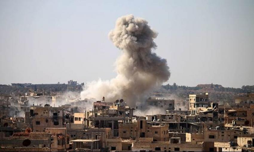 قوات النظام السوري تقصف مشفى غرب حلب