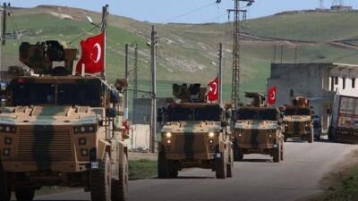 دخول رتلَين جديدين للجيش التركي إلى إدلب