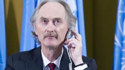 عاجل|مبعوث الأمم المتحدة إلى سوريا: لجنة صياغة الدستور اتفقت على الشروع في وضع مسودة إصلاح دستوري في سوريا