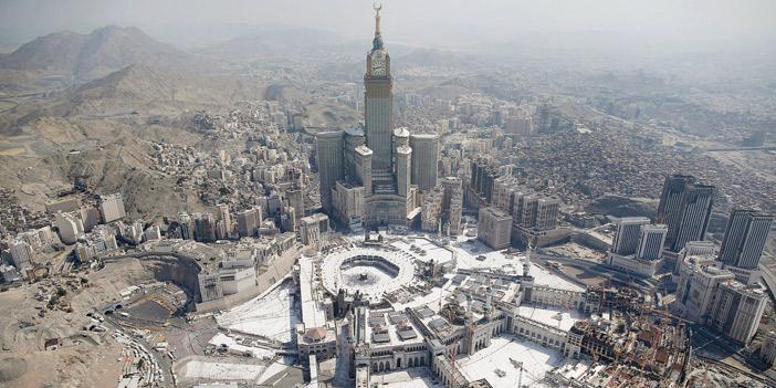 مكة المكرمة تُسجِّل أعلى درجة حرارة في العالم