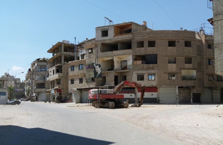 """النظام السوري يشنّ حملة اعتقالات في """"حمورية"""" بغوطة دمشق الشرقية"""
