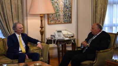 مصر تعلن دعمها لمسار التسوية السياسية في سورية على أساس القرارات الأممية