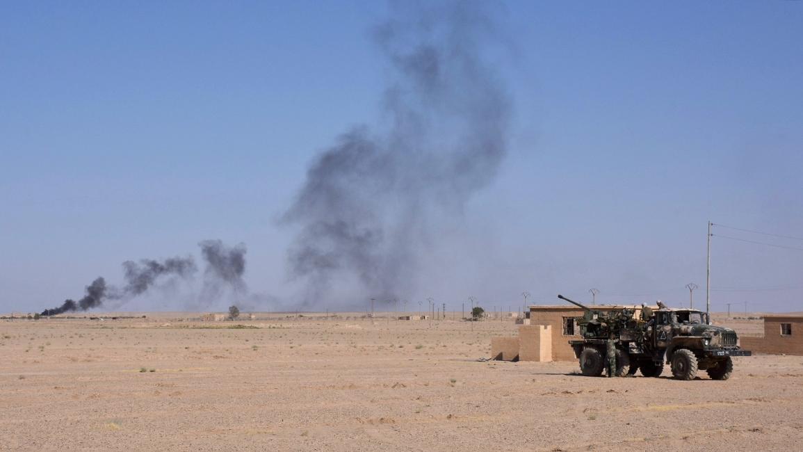 هجوم لتنظيم الدولة على موقع للنظام السوري في دير الزور