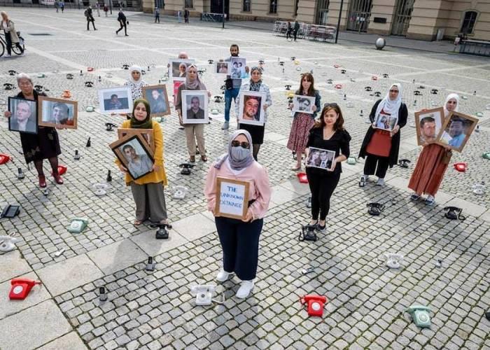 فعّالية سورية في برلين لتذكير العالم بمأساة المختفين قسريّاً