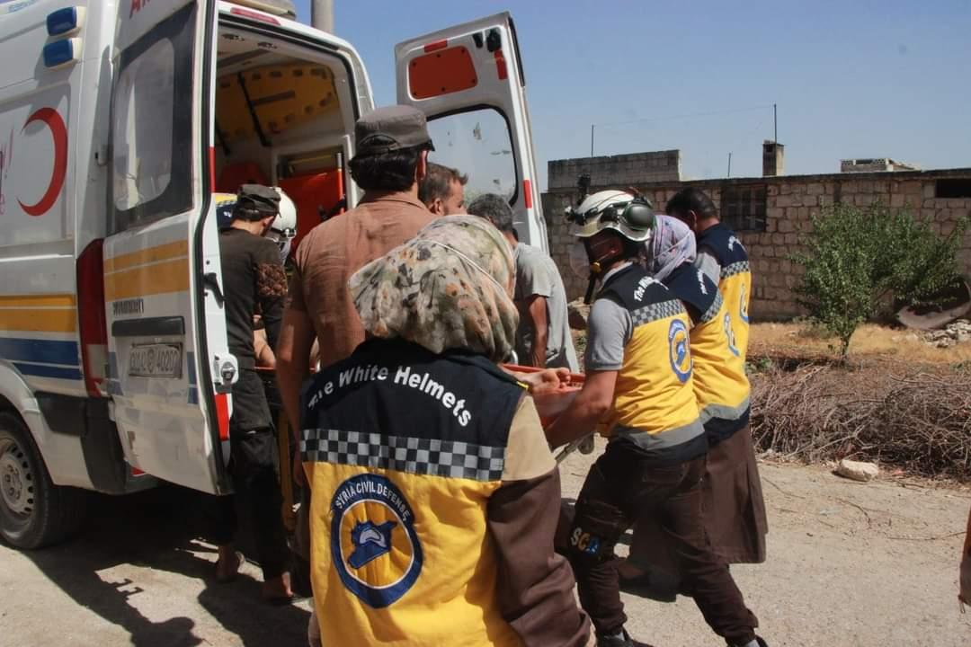 النظام السوري وروسيا يُصعِّدون من قصفهم على مراكز الدفاع المدني بإدلب