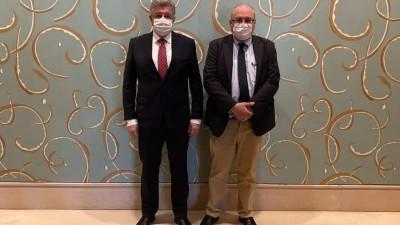 المسلط والعبدة يلتقيان مسؤولاً في الخارجية الأمريكية بجنيف