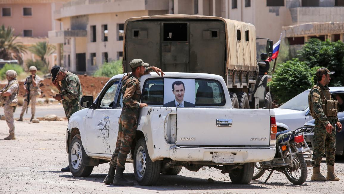 """النظام السوري يحاصر """"درعا البلد"""".. ودعوات لانتفاضة شعبية"""