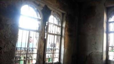 النظام يحرق المنازل بريف درعا