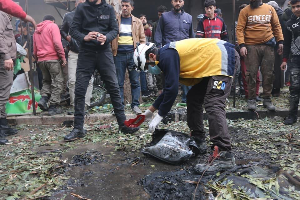 ضحايا مدنيون بانفجار سيارة مفخخة شرق حلب
