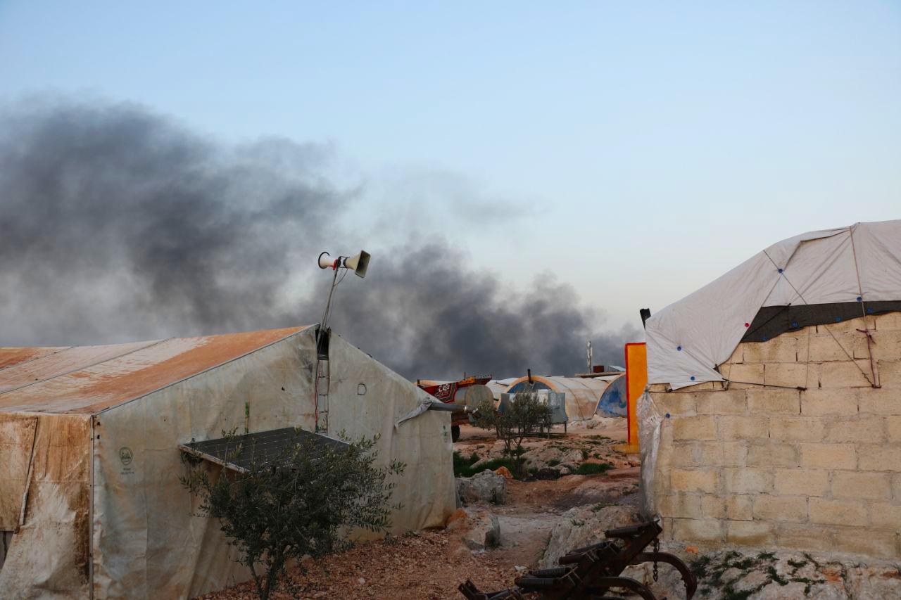 لماذا قصفت روسيا المناطق الحدودية في محافظة إدلب؟