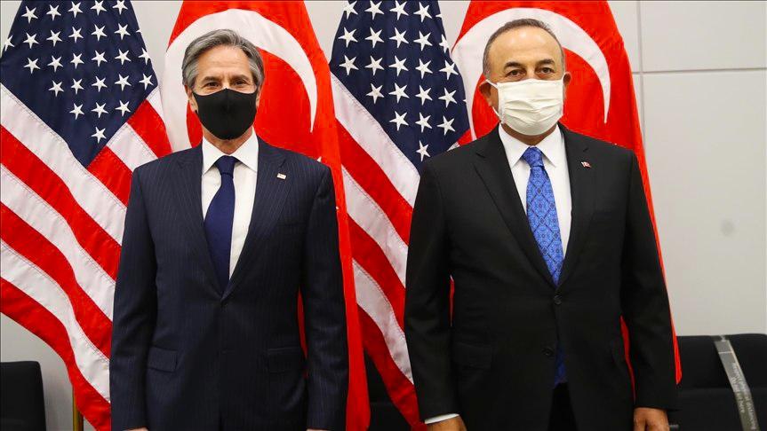وزيرا الخارجية التركي والأمريكي يبحثان الملف السوري