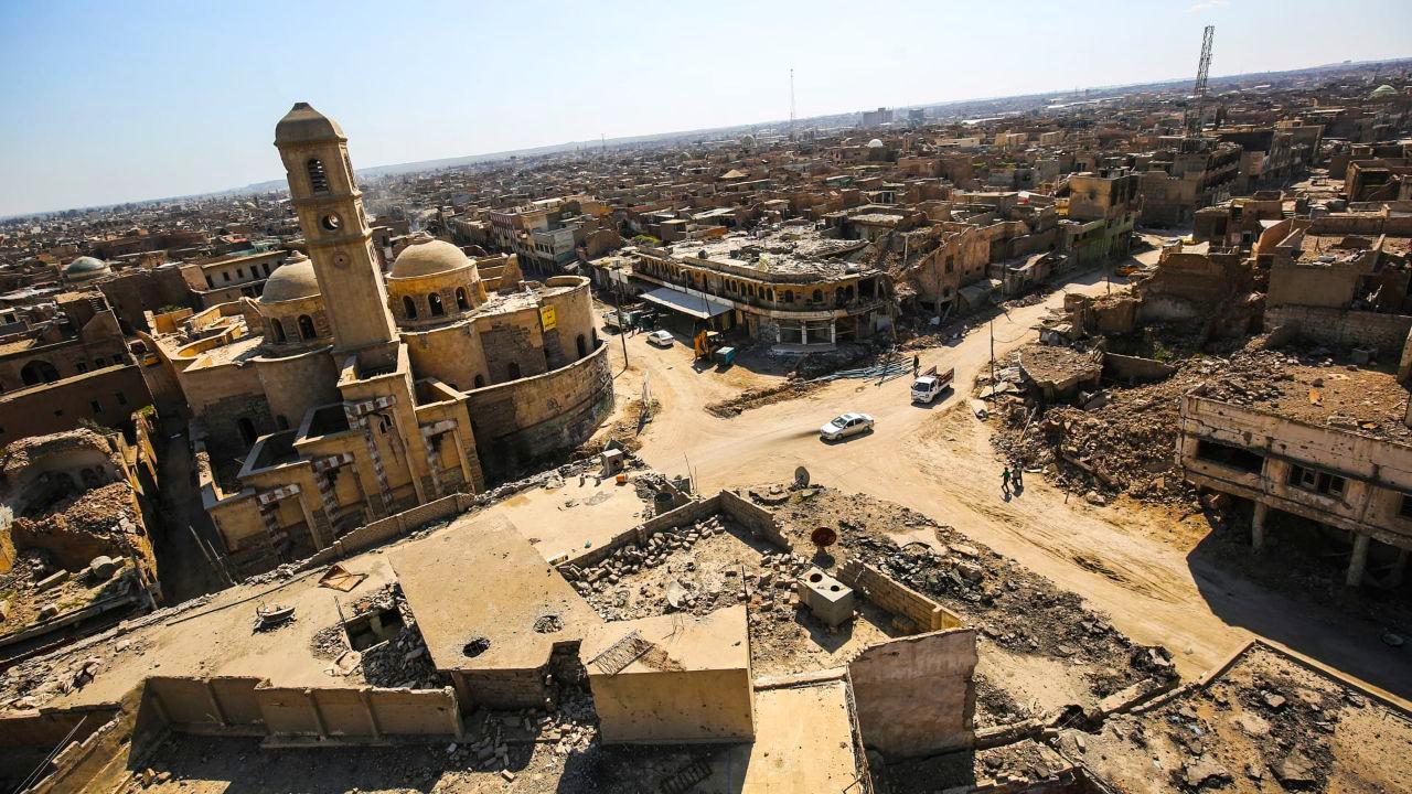 """العثور على """"كنز"""" دفنه تنظيم الدولة تحت الأرض في الموصل"""