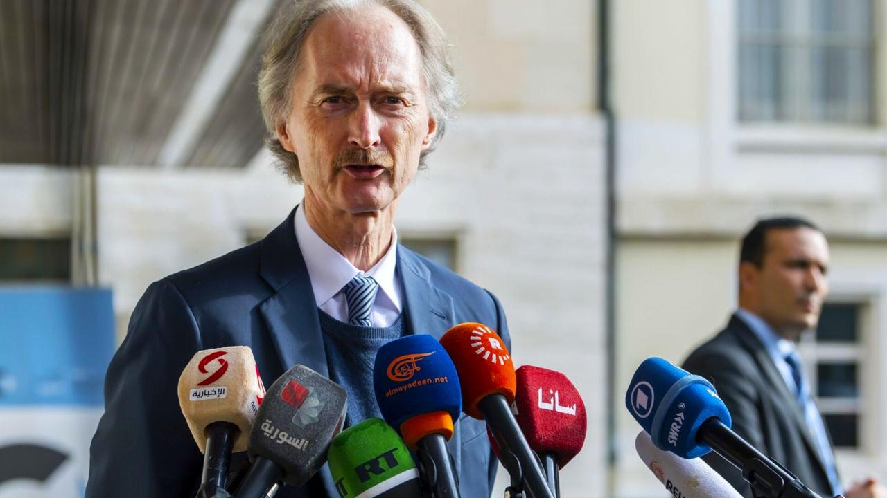 """""""بيدرسون"""" يحذر من خروج الوضع في سوريا عن السيطرة"""