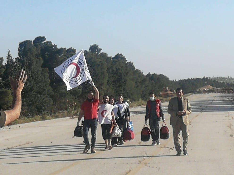 عملية تبادُل أسرى بين النظام السوري والجيش الوطني شرق حلب