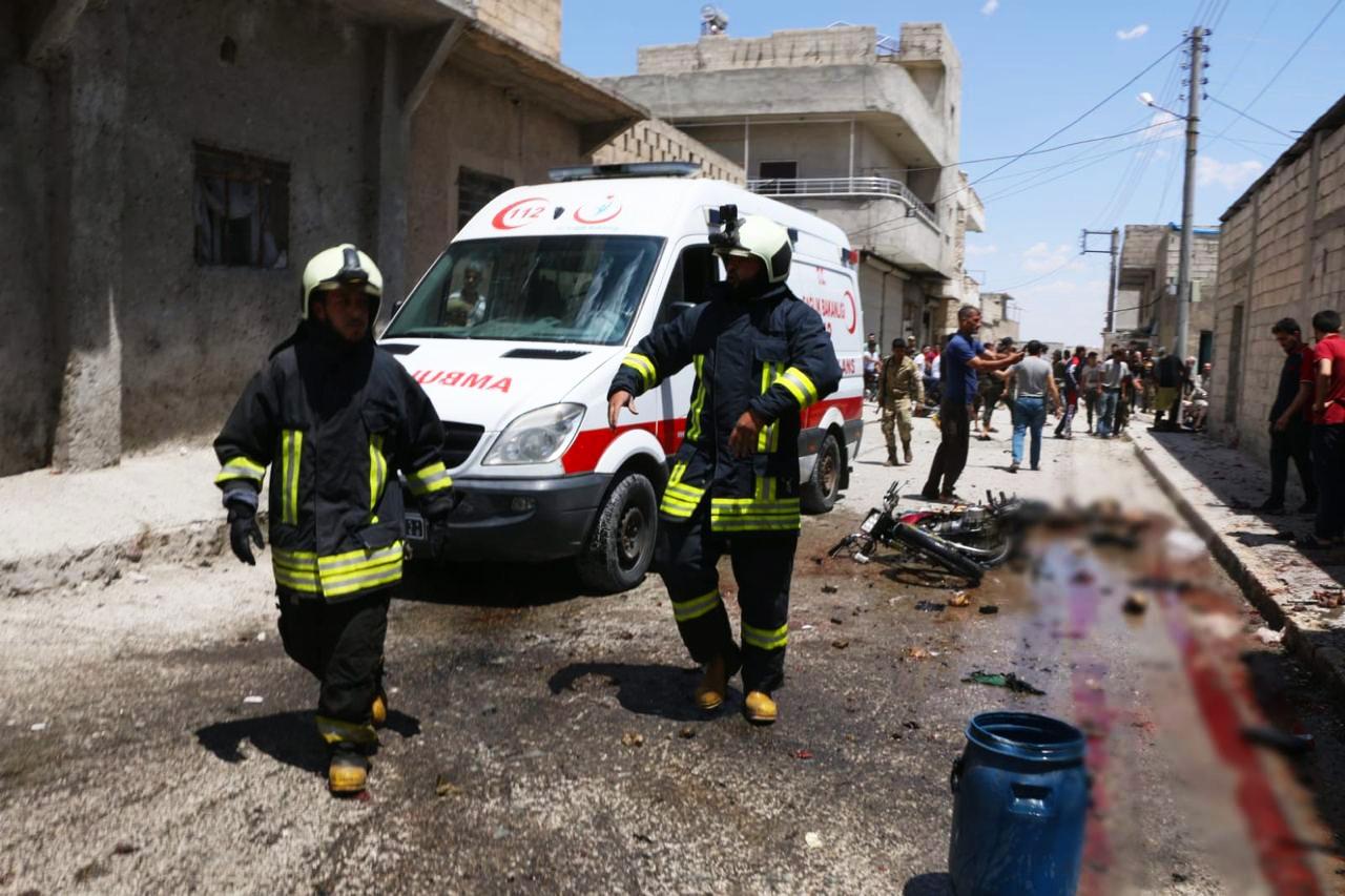 """مصادر """"نداء بوست"""" تكشف تفاصيل جديدة عن انفجار """"جرابلس"""" شرق حلب"""