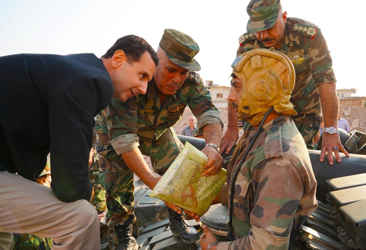 """موقع """"نداء بوست"""" يحصل على رسالة موجهة إلى """"بشار الأسد"""": عناصرك كالأغنام قتلها الجوع والعطش"""