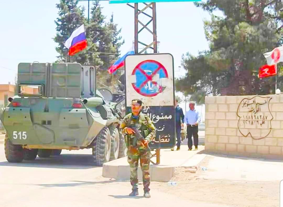 مقتل وإصابة 4 جنود روس بانفجار لغم شمالي سوريا