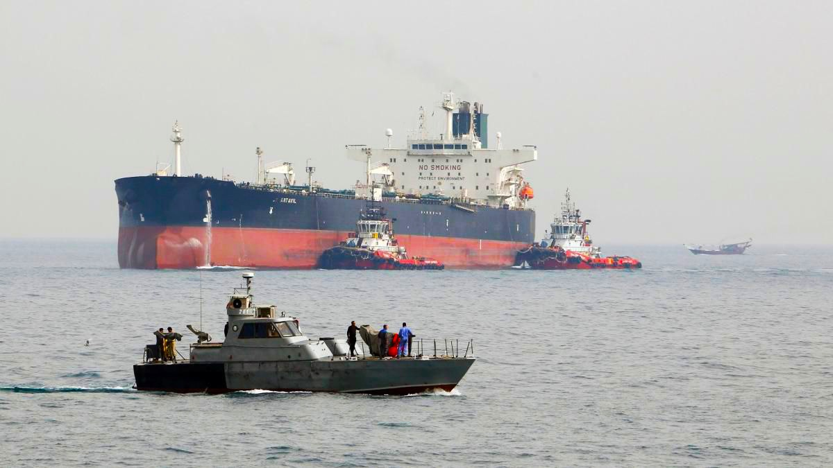شحنة جديدة من النفط الإيراني في طريقها إلى سوريا