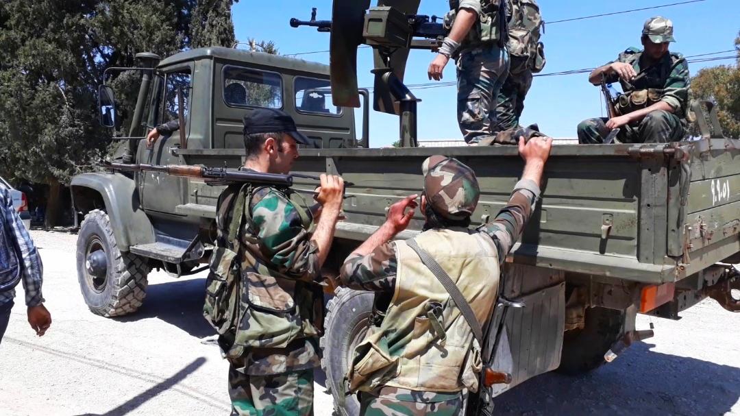 قتلى وجرحى من قوات النظام السوري بهجومين منفصلين في حمص