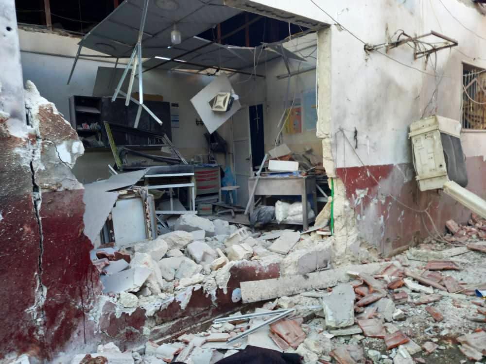 """ضحايا من """"الخوذ البيضاء"""" والكادر الطبي بقصف لـ""""قسد"""" على مشفى في """"عفرين"""" شمال حلب"""