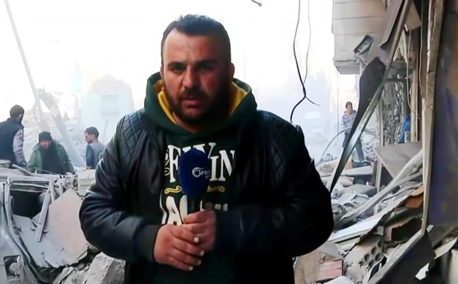 """النظام السوري ينتقم من الصحفي """"هادي المنجد"""" وعائلته"""