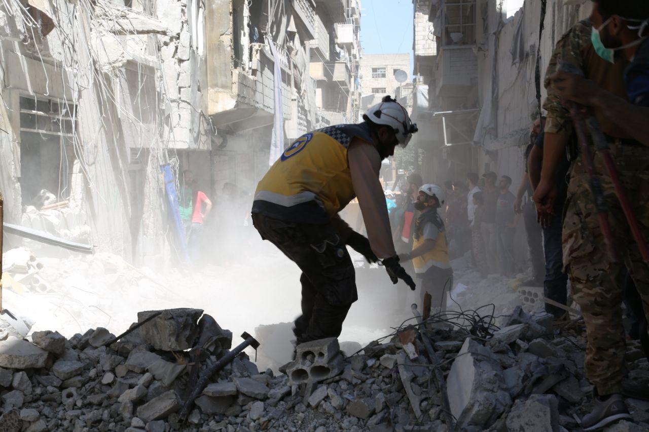 ضحايا جراء قصف قوات النظام السوري جنوب إدلب